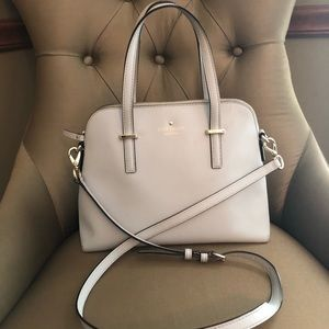 Kate Spade Light Lilac Gray Cedar Street Maise Bag